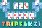 What will your score be?  Remove the cards on top to reveal the cards below in this fun version of Solitaire!  Play TriPeakz for FREE!
