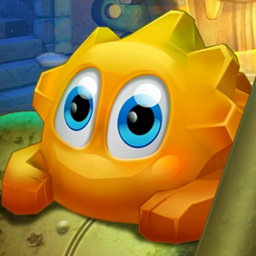 Tripp's Adventures - Can you reach the top of the tower in Tripp's Adventures?  Solve puzzles by changing Tripp's state - from solid to liquid to gas and back again! - logo