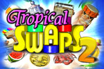 Escape to a paradise of puzzling, matching fun in Tropical Swaps 2!