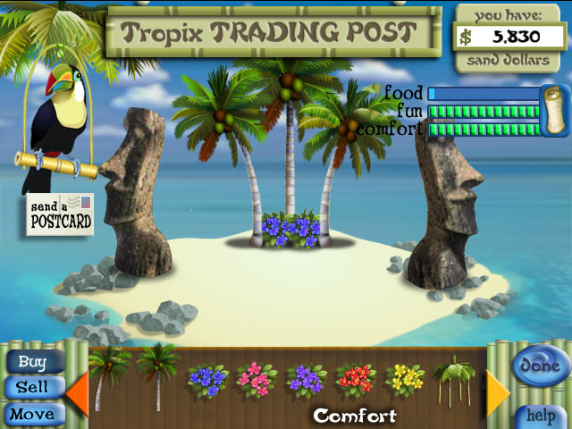 Tropix Deluxe screen shot