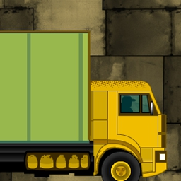 Truck Loader - Load the trucks with your amazing magnetic forklift! Truck Loader is a FREE online game that features realistic physics. - logo