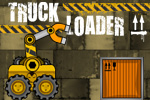 Load the trucks with your amazing magnetic forklift! Truck Loader is a FREE online game that features realistic physics.