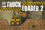 In Truck Loader 2, the loader has some new tricks up his sleeve and the warehouse is an obstacle course!  Play this FREE online arcade game!