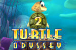 Turtle Odyssey 2 is 50 levels of beautiful, classic arcade action.