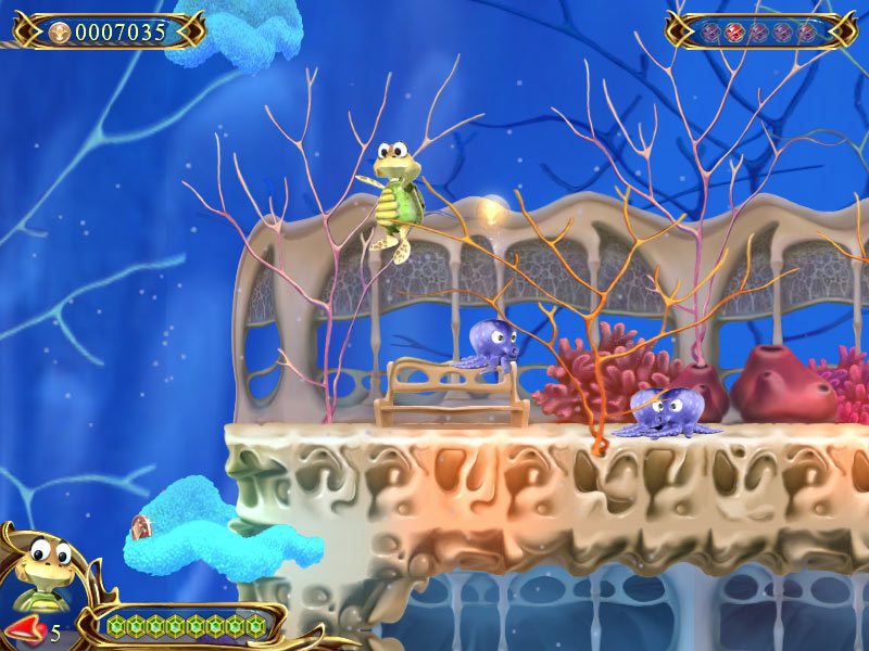 Turtle Odyssey 2 screen shot