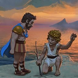 12 Labors of Hercules - Rebuild ancient Greece with the legendary hero, Hercules, in the time management game 12 Labours of Hercules! - logo
