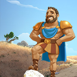 12 Labors of Hercules II: The Cretan Bull - Help Hercules rebuild the land and tame the famous bull in the time management game 12 Labors of Hercules II: The Cretan Bull! - logo