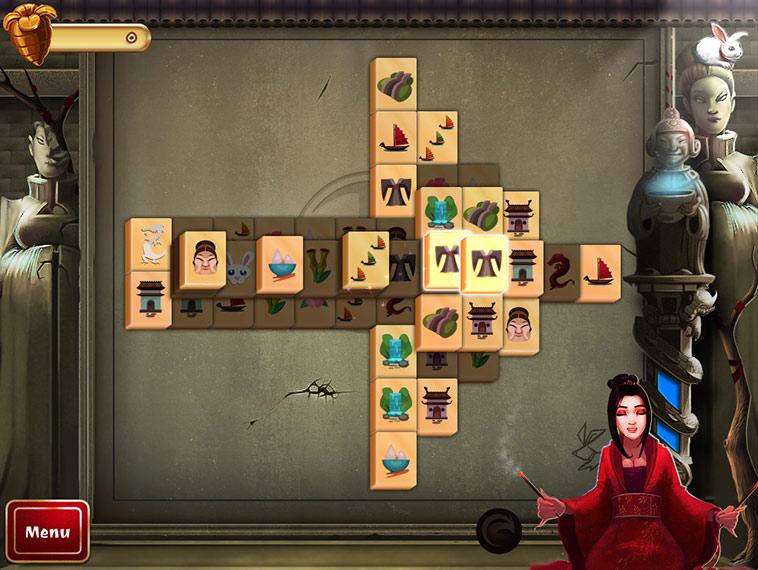 2D Mahjong Temple screen shot