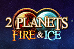 On the ice world, you'll chill out and clear match-3 levels at your own pace.  On the fire planet, you've got a timer!  It's 2 Planets Ice & Fire!