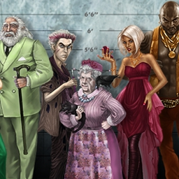 Unlikely Suspects - Unlikely Suspects is a whodunnit hidden object game with 4000 outcomes! - logo