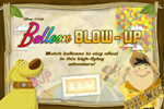 In UP: Balloon Blow UP, match balloons to stay afloat in a high-flying adventure! Don't let the house hit the ground.