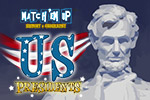 US Presidents Match'Em Up™ will have your child matching information about the US Presidents to clear the board.