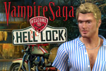 Vampire Saga: Welcome to Hell Lock is a hidden object game with a chilling story and 35 creepy scenes!