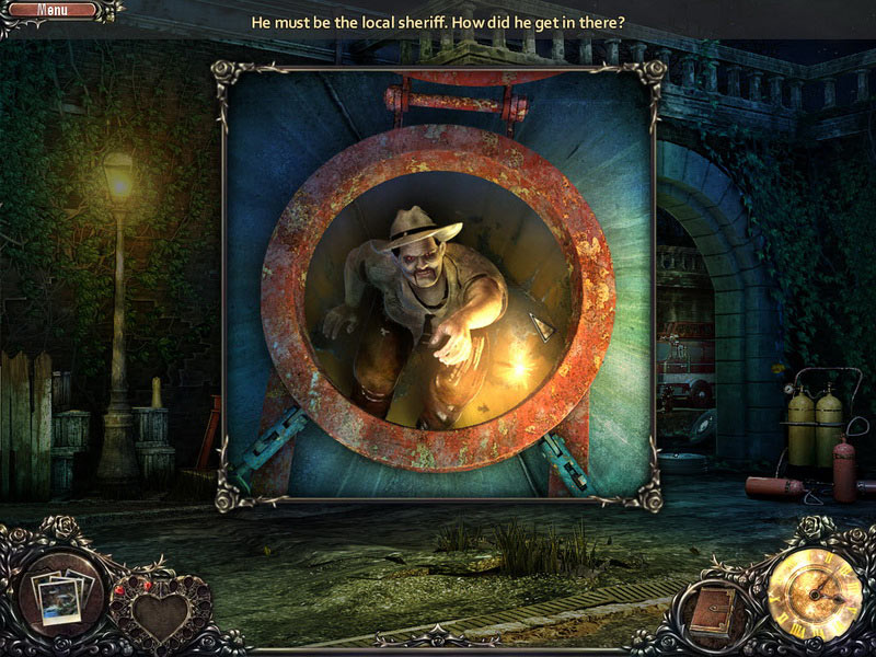 Vampire Saga: Welcome to Hell Lock screen shot