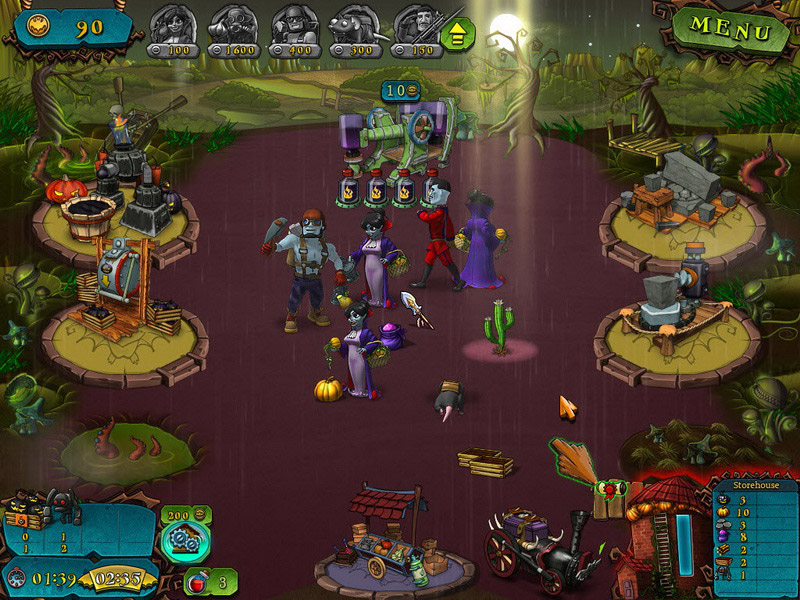 Vampires vs. Zombies screen shot