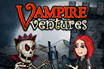 Join Vampire Val as she embarks on her quest to find her kidnapped father in the match-3 game Vampire Ventures.