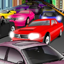 Vegas Traffic Mayhem - It's time to tame the traffic of Sin City in Vegas Traffic Mayhem! Play FREE now. - logo