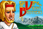 By the horns of your helmet! Through 50 levels of rollicking time management fun, you'll rebuild the Viking world in Viking Brothers.