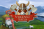 A mischievous god cursed the Viking king and you must help him in Viking Saga. Can you restore an island and give Loki the ring he desires in time?