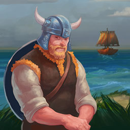 Viking Saga: Epic Adventure - To marry the woman he loves, King Ingolf must go on an incredible time management quest. Play Viking Saga: Epic Adventure! - logo