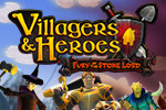 Villagers & Heroes is a fantasy RPG in a vast multiplayer world. Join a village, own a home, craft, combat, and explore the world of the Seven Realms.