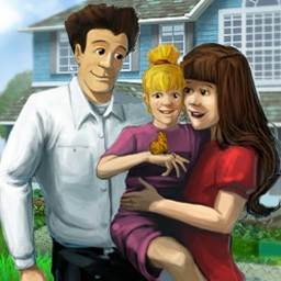 Virtual Families - Virtual Families is a family sim game from the makers of Virtual Villagers! - logo