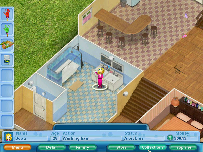 Virtual Families screen shot