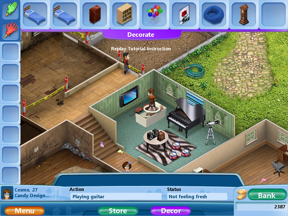 Virtual Families 2 screen shot