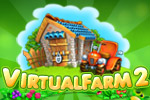 Raise bumper crops and sell them for a profit in Virtual Farm 2, a delicious time management game!