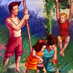 Virtual Villagers 4 - The Tree of Life - Guide a new tribe of castaways in Virtual Villagers 4 - Tree of Life! - logo