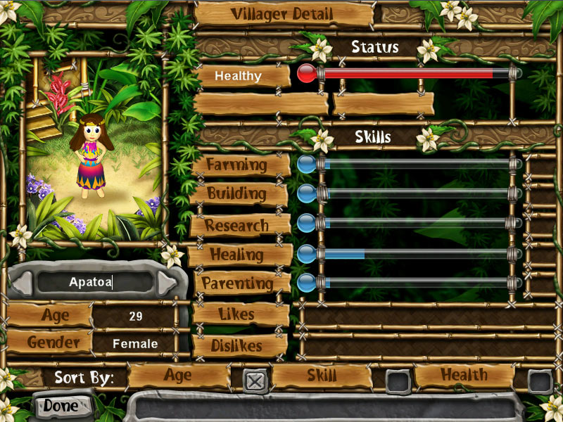 Virtual Villagers 4 - The Tree of Life screen shot