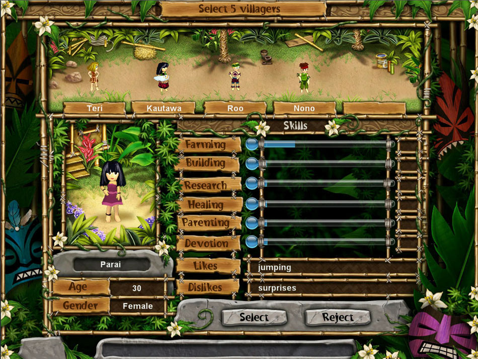Virtual Villagers 5 - New Believers screen shot