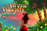 Raise a tribe in real-time in Virtual Villagers, a fun sim adventure game!