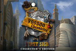 James Voodoo is an ambitious detective who might just be in over his head in the Collector's Edition of Voodoo Chronicles: The First Sign!