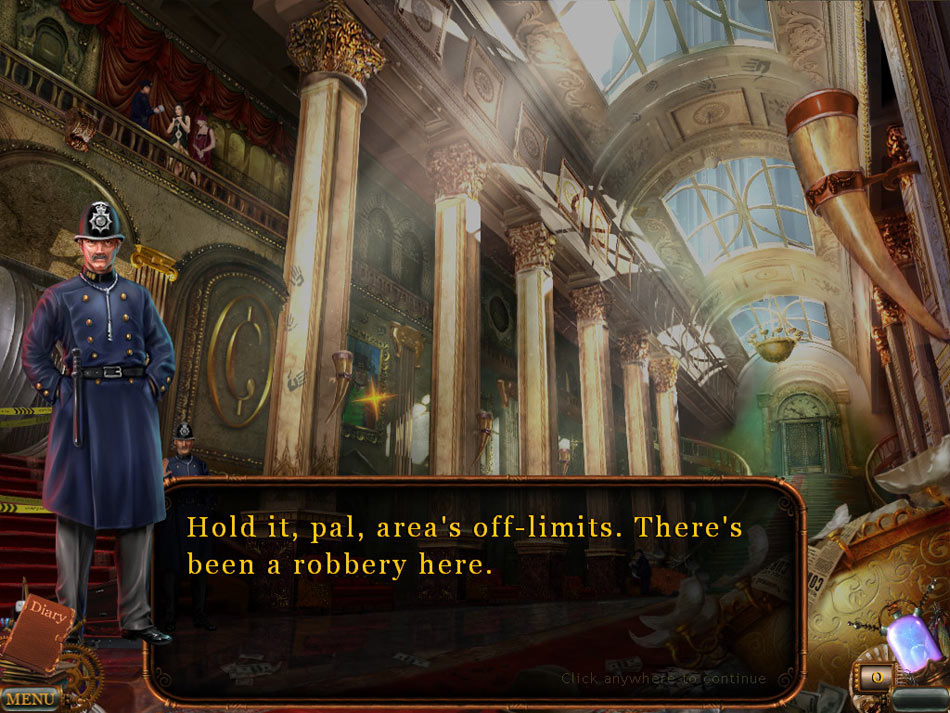 Voodoo Chronicles: The First Sign Collector's Edition screen shot