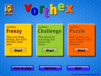 VortHex screen shot