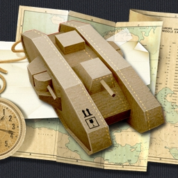 War in a Box: Paper Tanks - Finally the war of paper tanks comes into your room! Find out how long you can defend against them in War in a Box: Paper Tanks! - logo