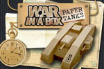 Finally the war of paper tanks comes into your room! Find out how long you can defend against them in War in a Box: Paper Tanks!