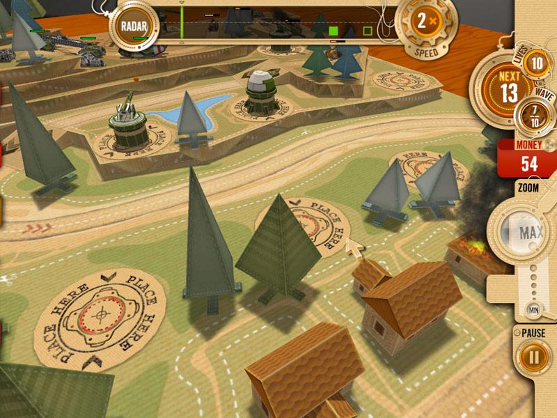 War in a Box: Paper Tanks screen shot