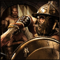 War of Titans - Sharpen your blade and prepare to fight other gladiators in War of Titans! - logo