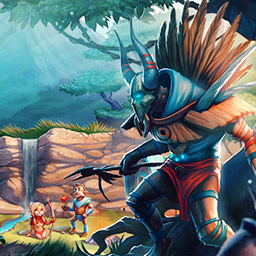 Weather Lord: In Pursuit of the Shaman - Lead a brave band of warriors to defeat an evil shaman in the time management game Weather Lord: In Pursuit of the Shaman. - logo