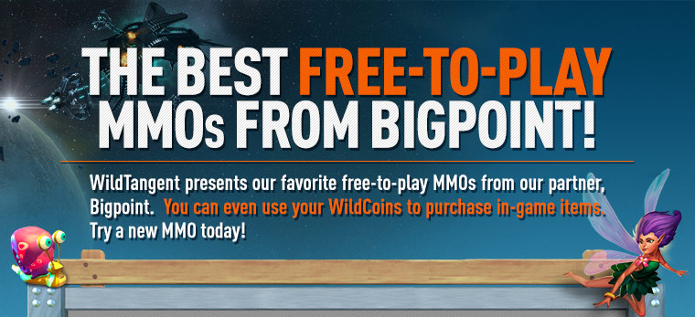 The Best Free-to-Play MMOs from BigPoint