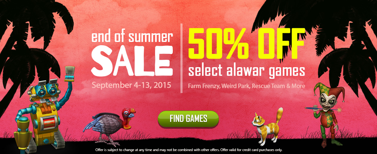 Alawar Summer Sale! - 50% Off Select Games. - image