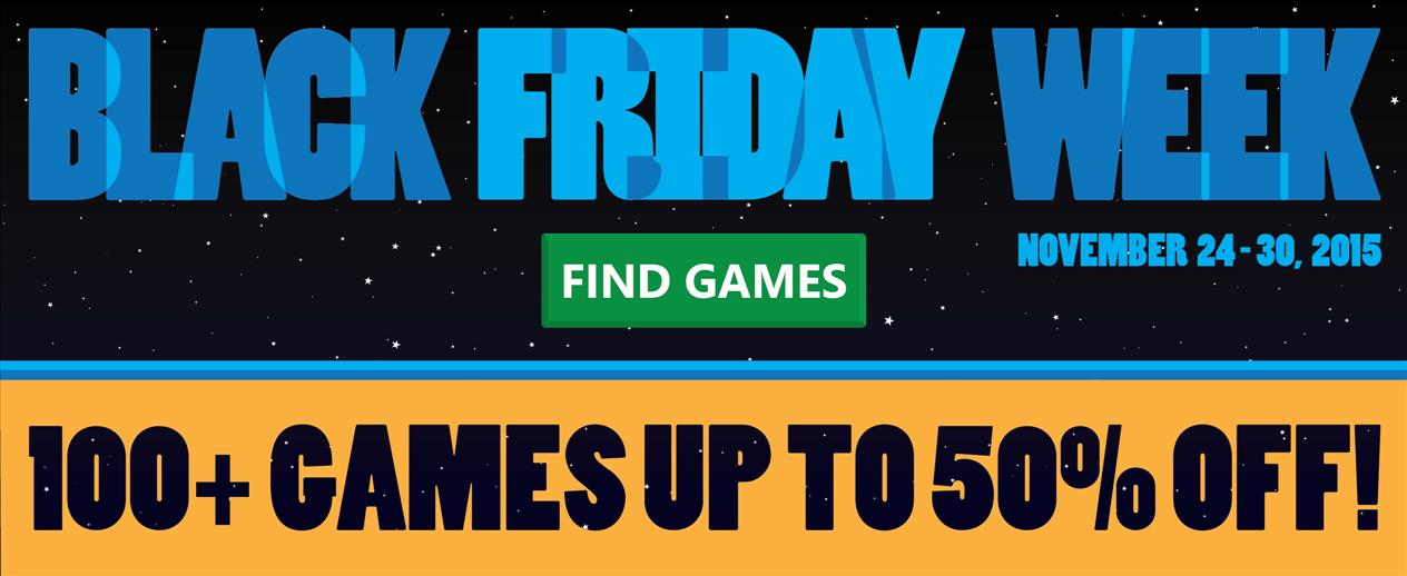 Black Friday Week! - 50% Off 100+ Games - image