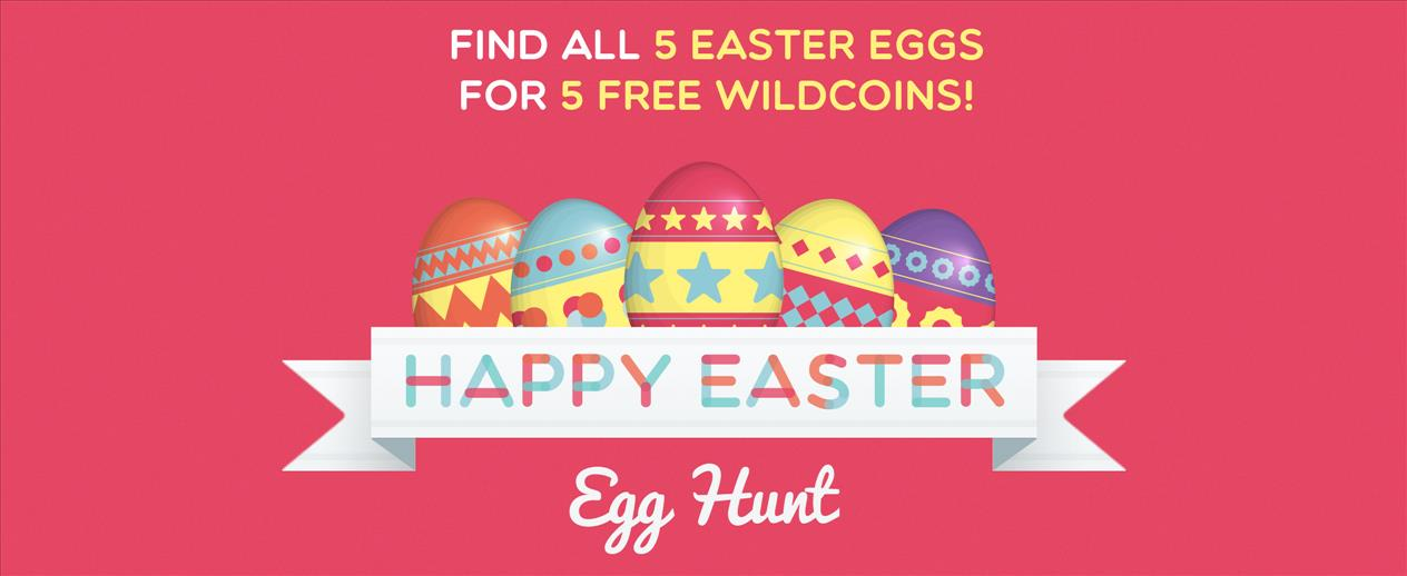 Easter Egg Hunt! - Find 5 eggs for 5 WildCoins! - image