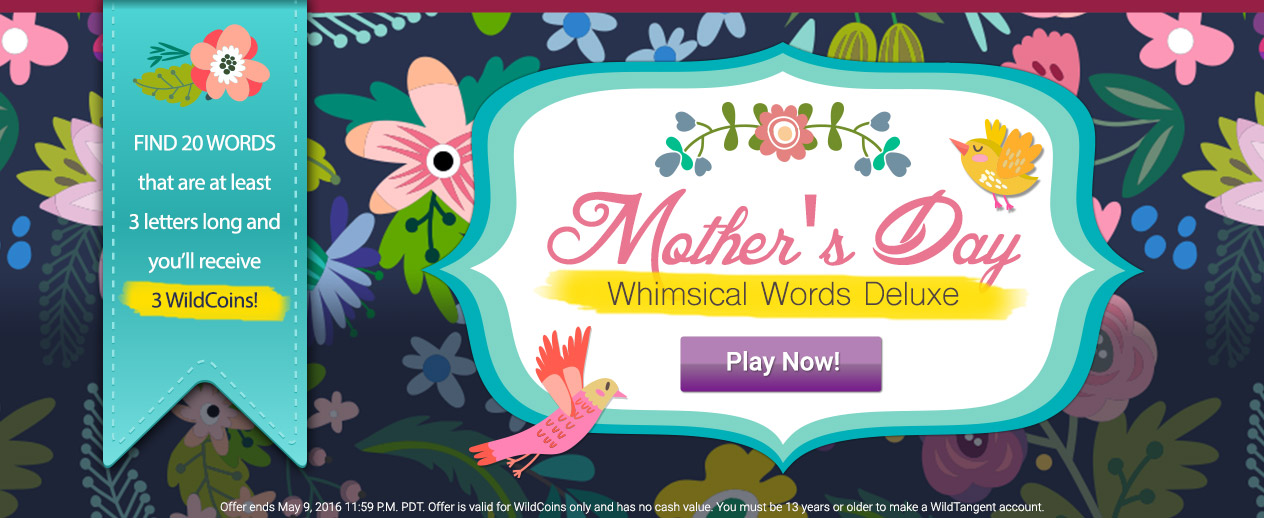 Mother's Day Game! - Chance to Win 3 WildCoins! - image