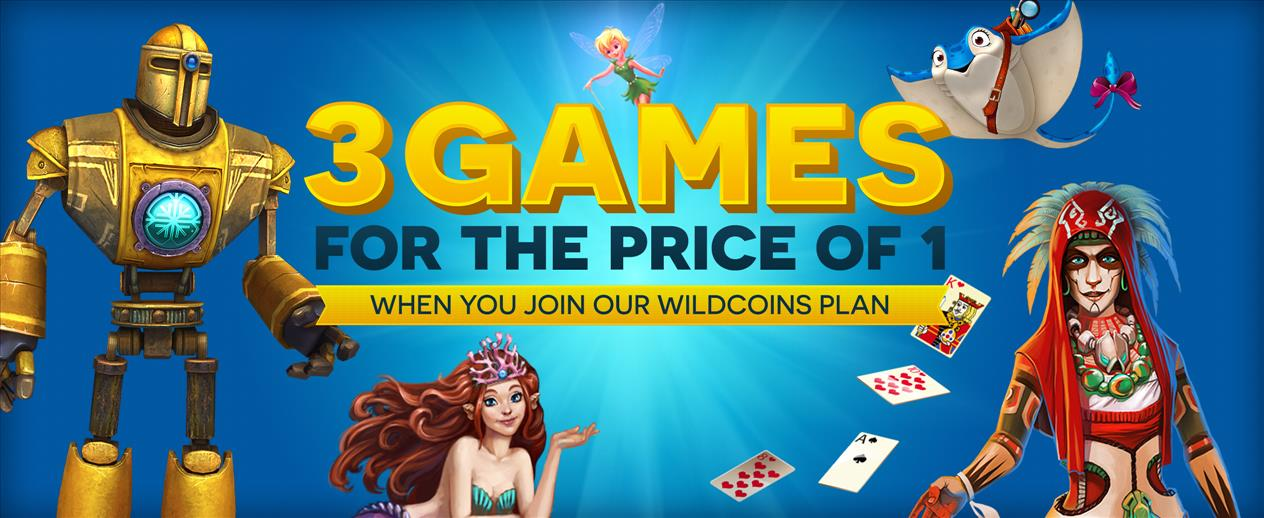 Three Games for the Price of One! - Enjoy more for less! - image