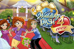 Quinn's mom shakes things up in crazy ways in Wedding Dash® 4-Ever!