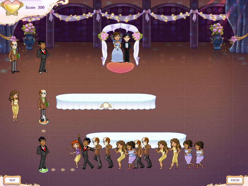 Wedding Dash® 4-Ever screen shot