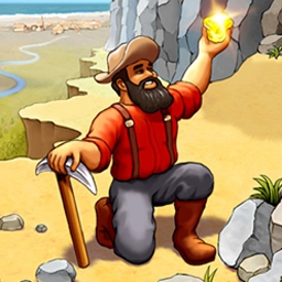 Westward III - Gold Rush - Build and defend a new frontier settlement in Westward III: Gold Rush! - logo